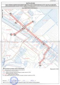 Карта (План) объекта землеустройства
